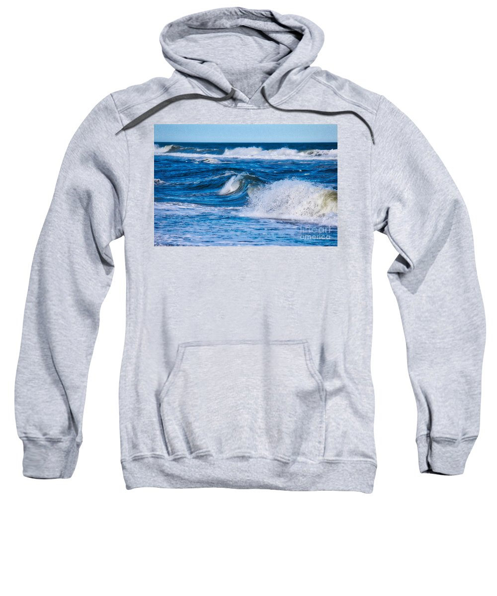 Sea Sweatshirt featuring the photograph Deep Blue Sea by Karin Everhart