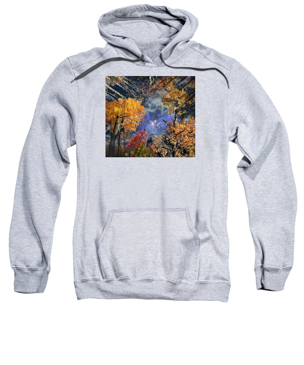 Deep Space Sweatshirt featuring the photograph Deep Canopy by Dave Martsolf
