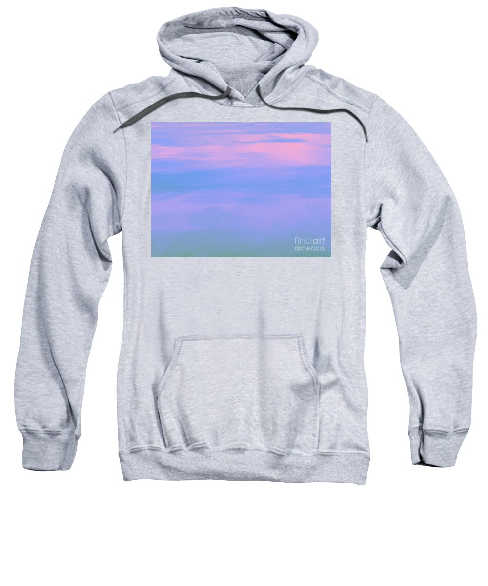 Calm Sweatshirt featuring the photograph Deep Meditations by Sybil Staples