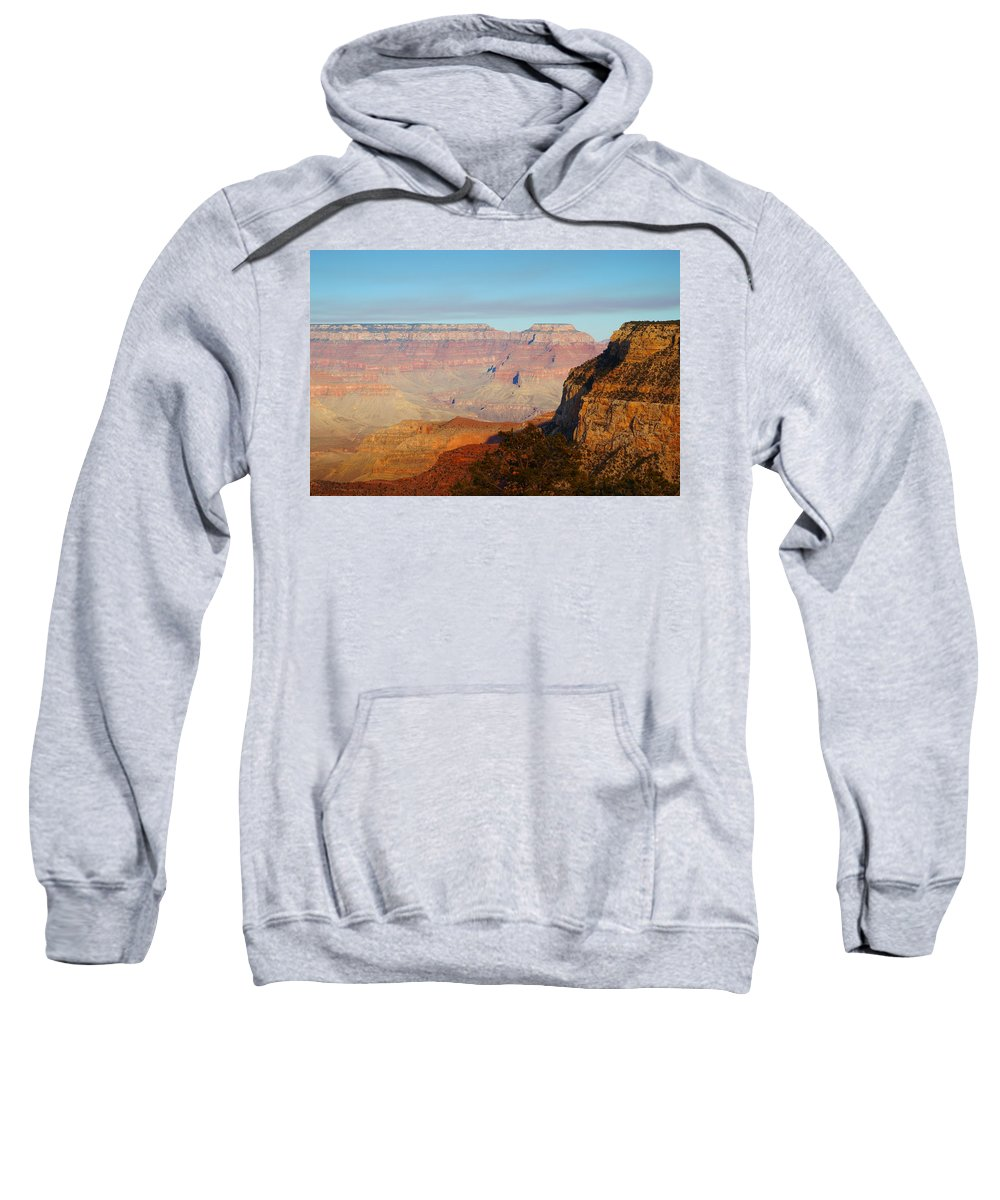 Autumn Sweatshirt featuring the photograph Depth Perception by Beth Collins