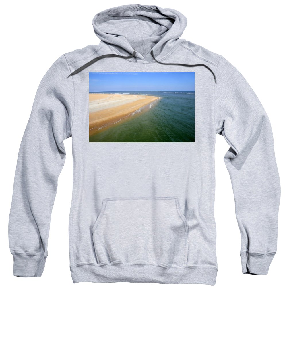 Island Sweatshirt featuring the photograph Desert Island by David Lee Thompson