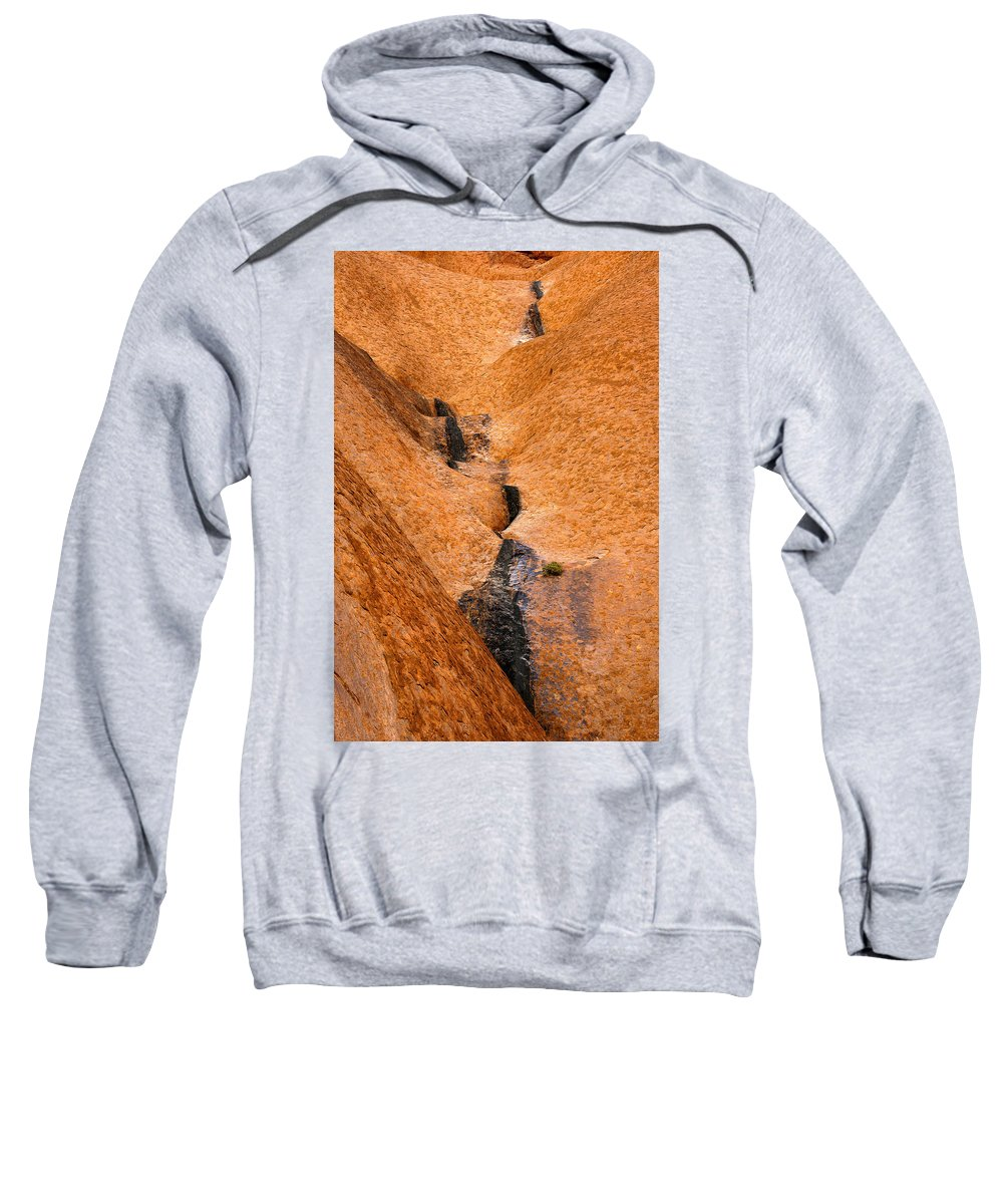 Ulara Sweatshirt featuring the photograph Desert Stain by Mike Dawson