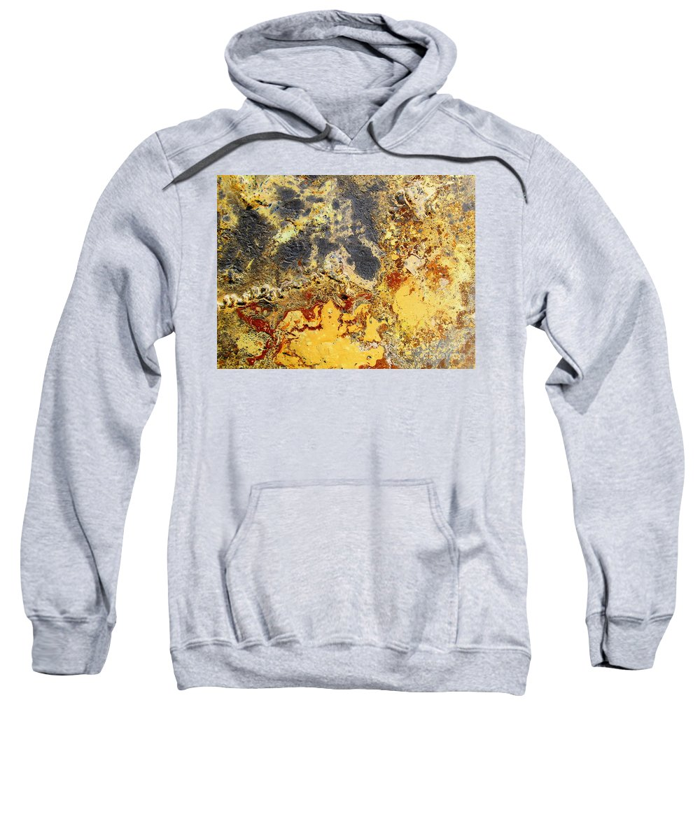 Desert Sweatshirt featuring the painting Deserts Of Hope by Dawn Hough Sebaugh