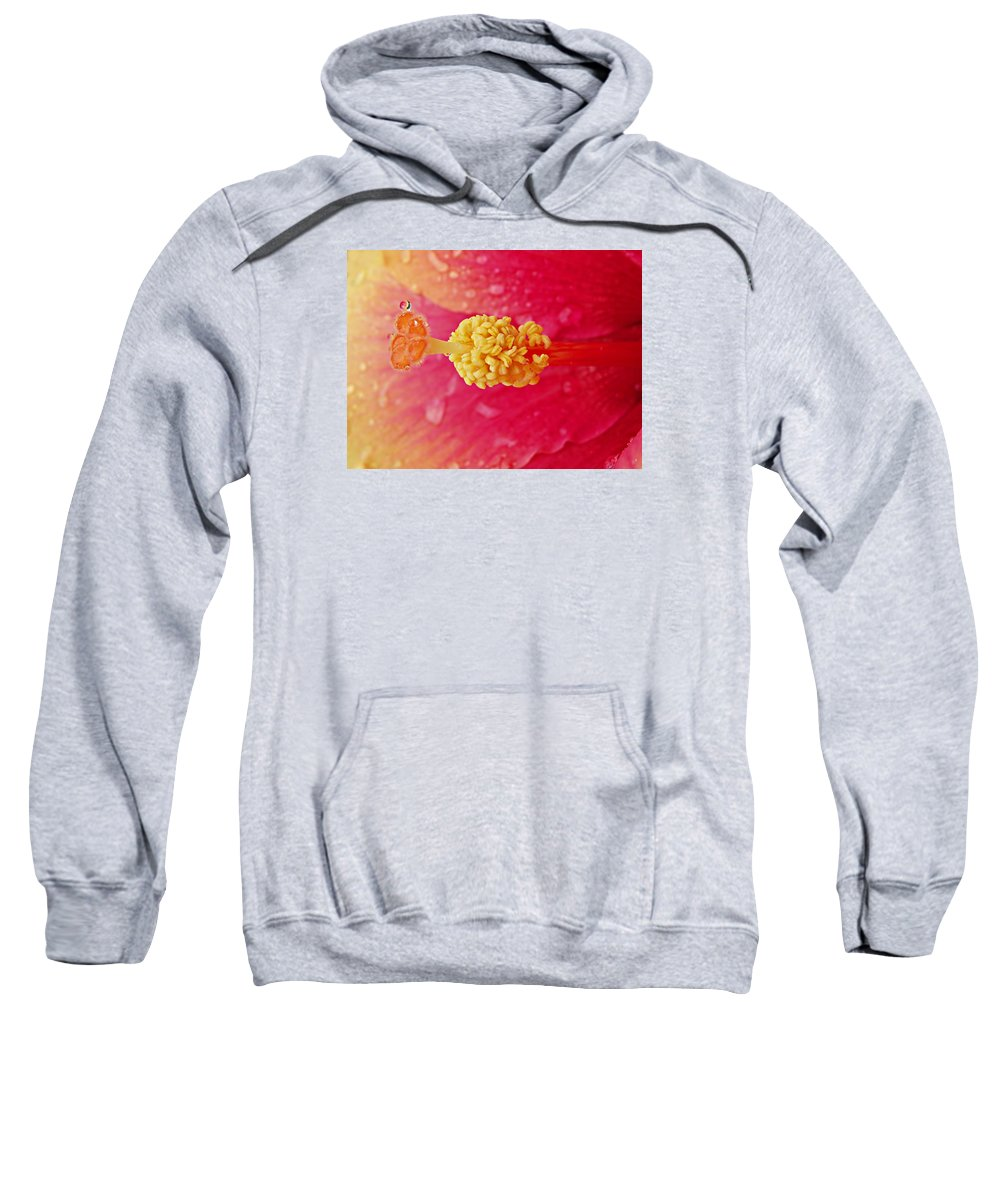 Dew Sweatshirt featuring the photograph Dew Drop by Bruce Roker