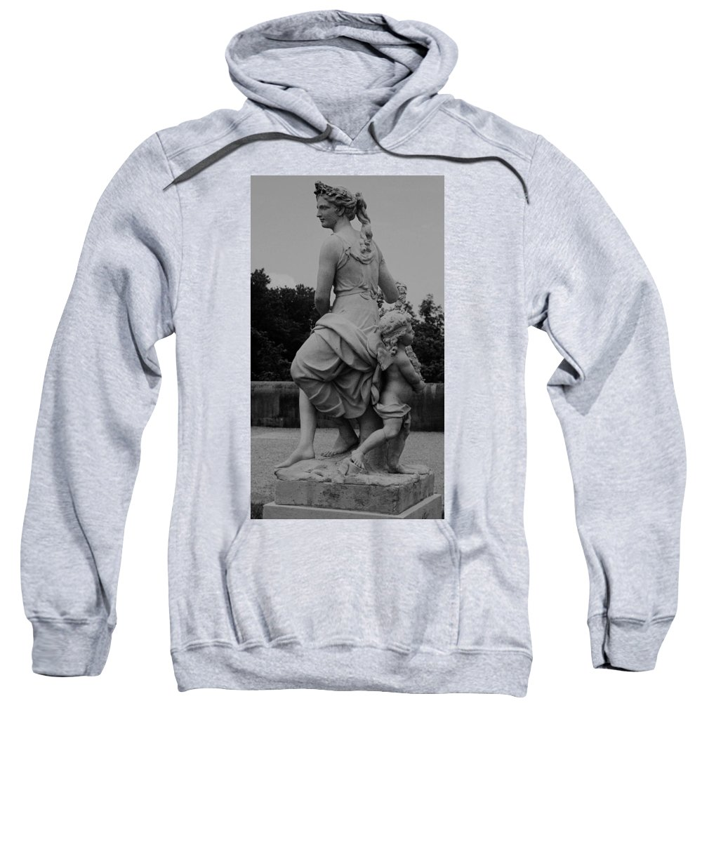 Figurative Sweatshirt featuring the painting Diana by Eric Schiabor