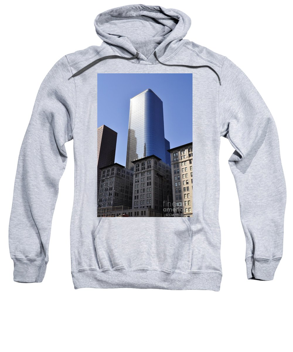 Clay Sweatshirt featuring the photograph Dichotomy by Clayton Bruster