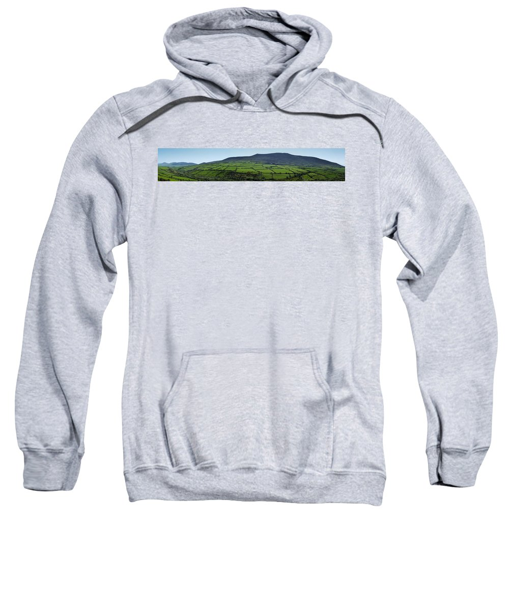 Irish Sweatshirt featuring the photograph Dingle Peninsula Panorama Ireland by Teresa Mucha