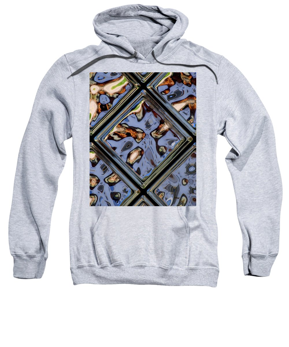 Distortion Sweatshirt featuring the photograph Distortion In Focus by Frozen in Time Fine Art Photography
