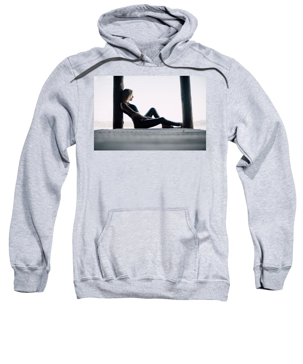 Bankruptcy Attorney Richmond Va Sweatshirt featuring the mixed media Divorce Attorney Richmond Va by The Andrews Law Firm