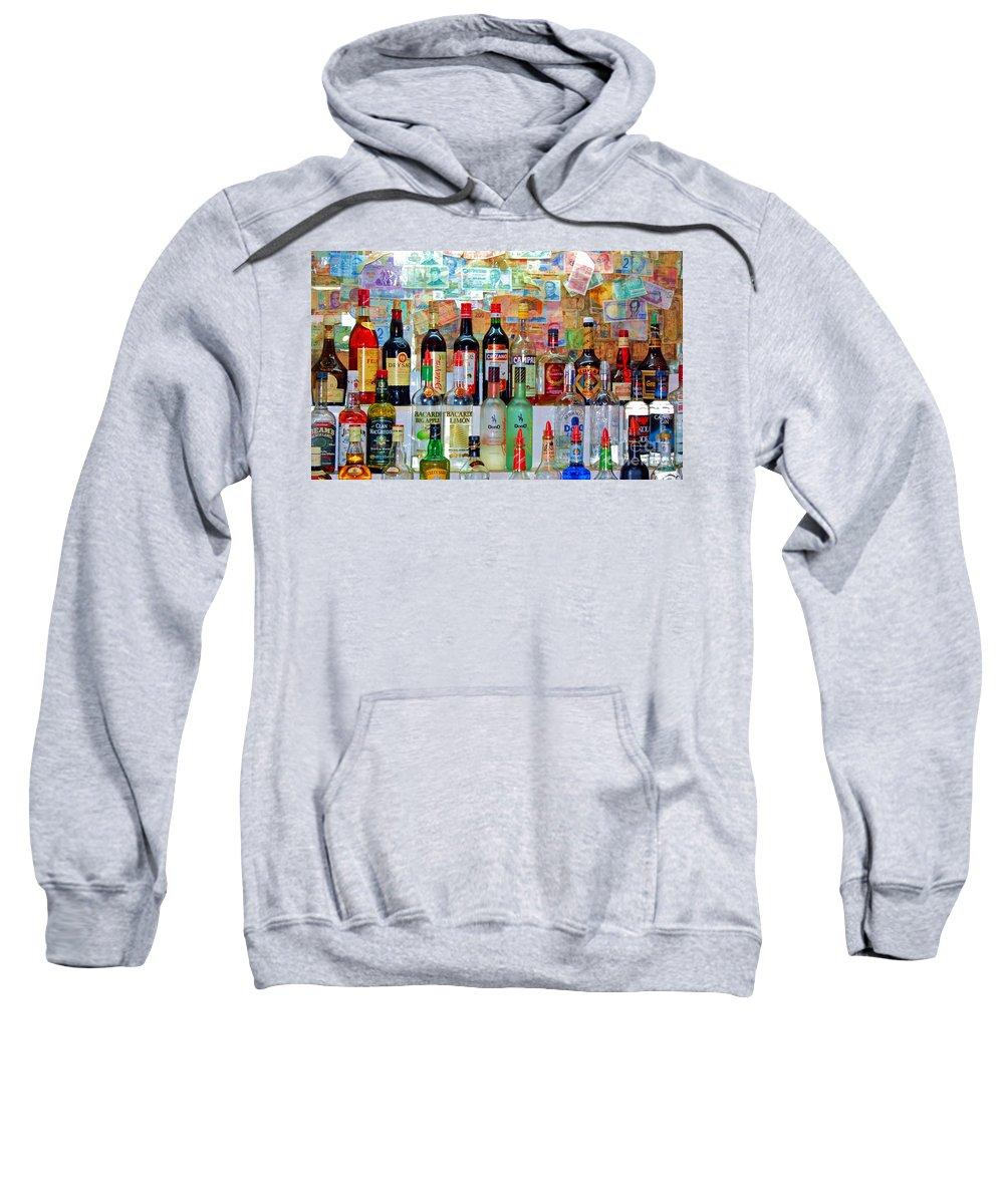 Liquor Sweatshirt featuring the photograph Don Q by Debbi Granruth