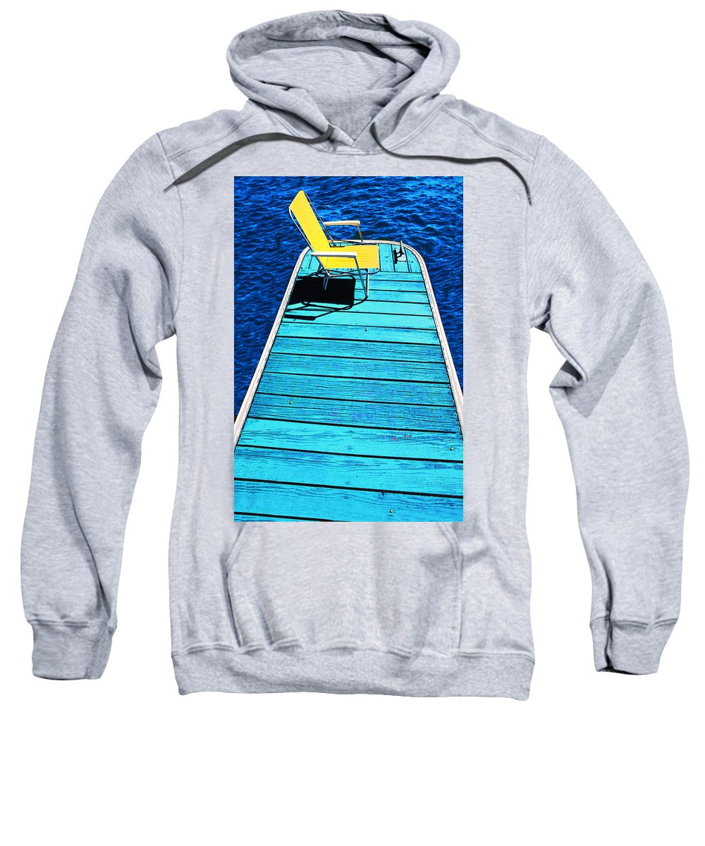 Photography Sweatshirt featuring the photograph Done Fishing by Paul Wear