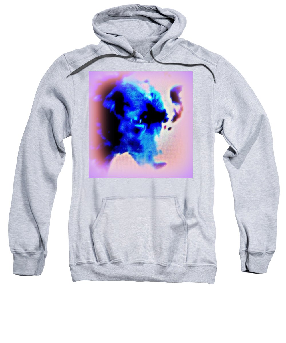 Weapon Sweatshirt featuring the photograph I Hope That You Never Will Walk Out On Me Anymore  by Hilde Widerberg