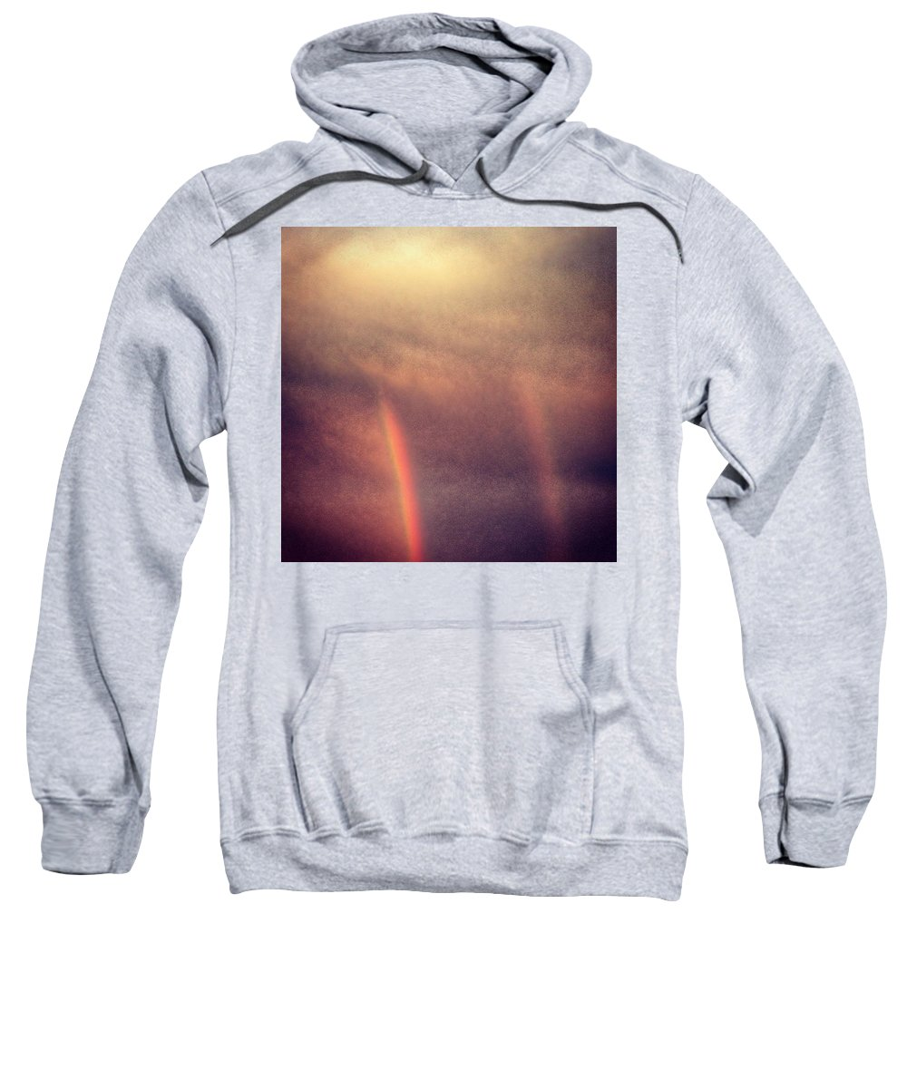Sky Sweatshirt featuring the photograph Double Bow by Kate McGlynn