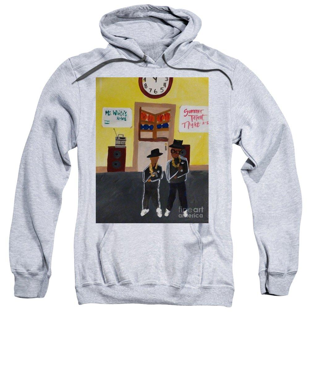 Boys Sweatshirt featuring the photograph Double Dd's by Autoya Vance