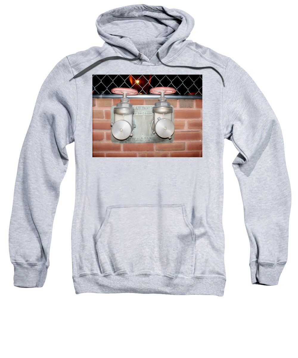 Color Photograph Sweatshirt featuring the photograph Double by Thomas Valentine
