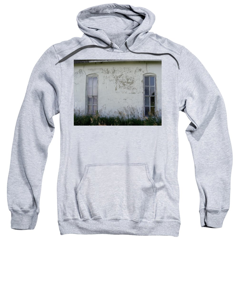Double Vision Sweatshirt featuring the photograph Double Vision by Ed Smith