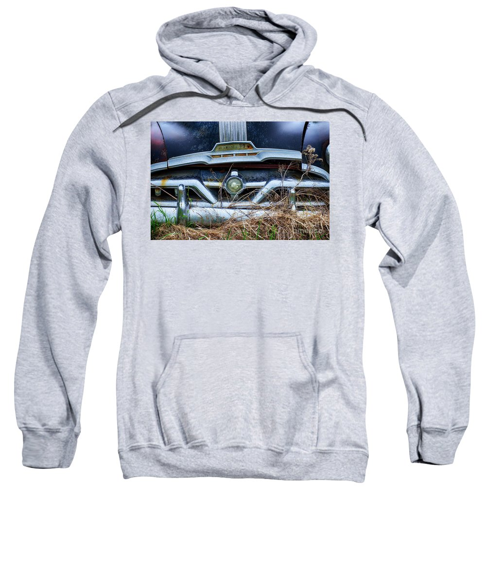 Antiques Sweatshirt featuring the photograph Down In The Dumps 18 by Bob Christopher