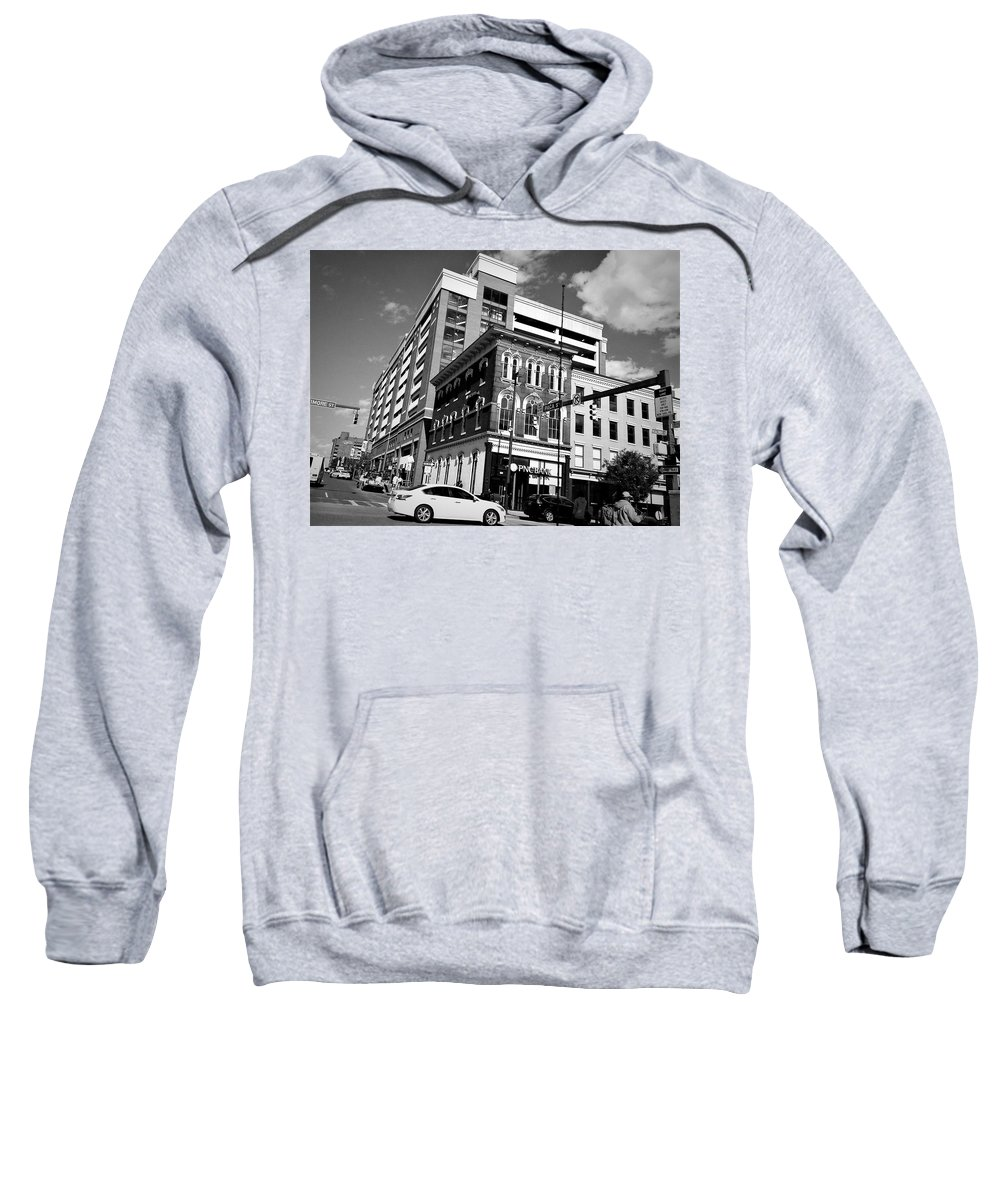 Photography Sweatshirt featuring the photograph Down Town Baltimore City by Debra Lynch