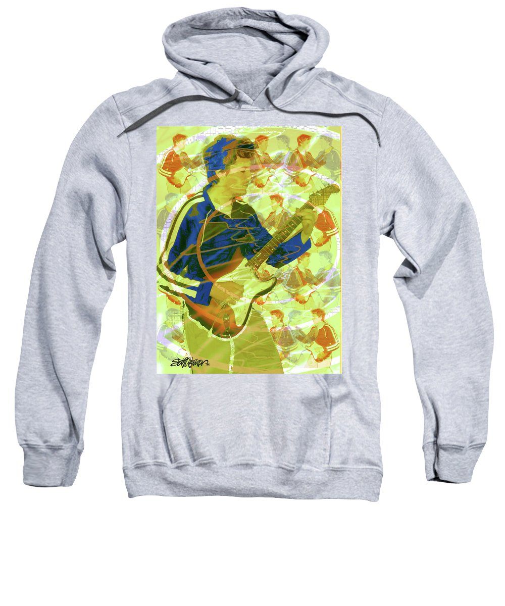 Dr. Guitar Sweatshirt featuring the photograph Dr. Guitar by Seth Weaver