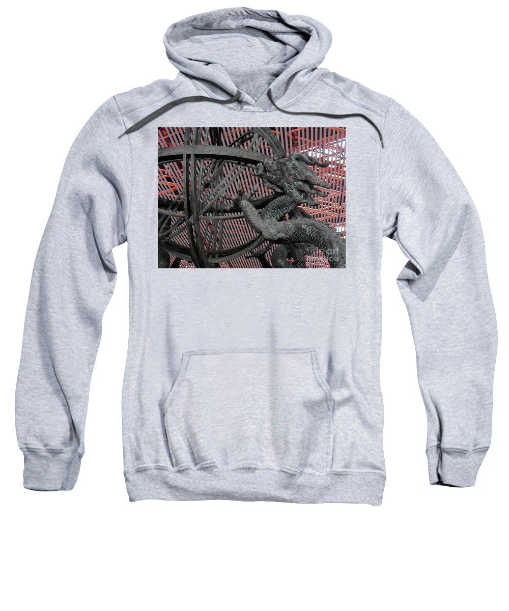 Horizontal Sweatshirt featuring the photograph Dragon by Stefania Levi