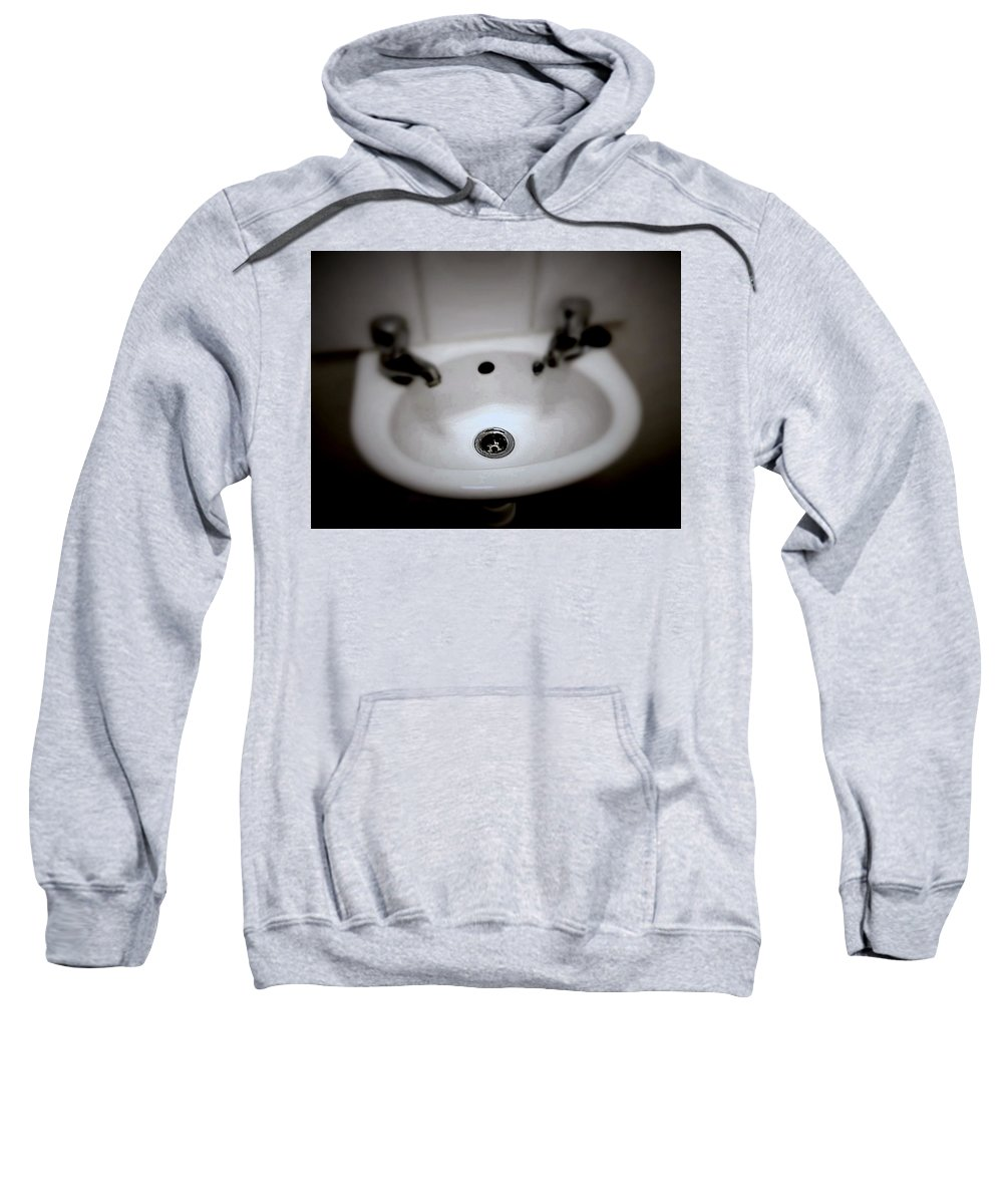 Still Life Sweatshirt featuring the photograph Drained by Karen Christine Boissonneault