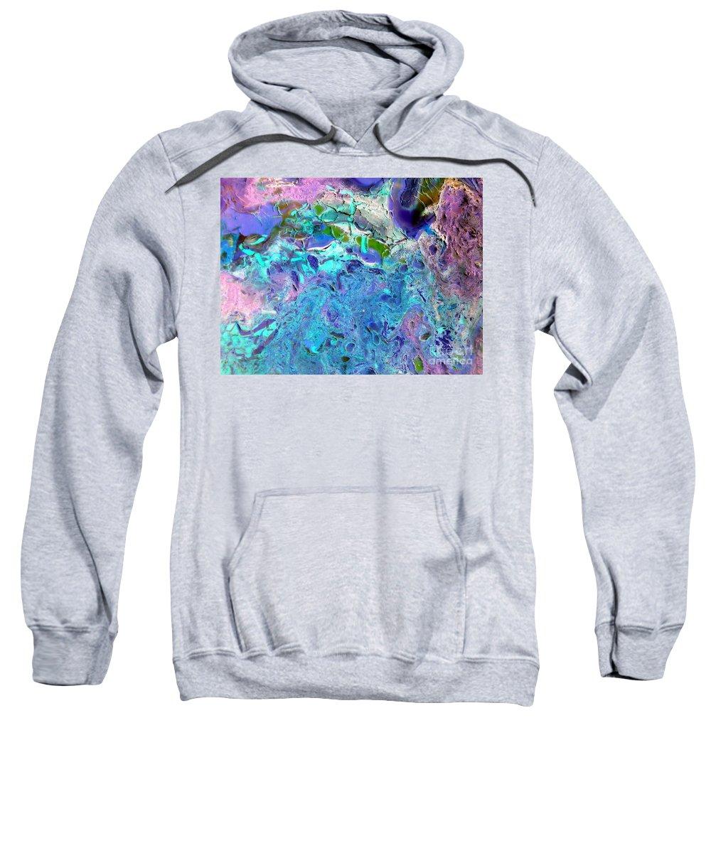 Dream A Little Dream Of Me Sweatshirt featuring the painting Dream A Little Dream Of Me by Dawn Hough Sebaugh