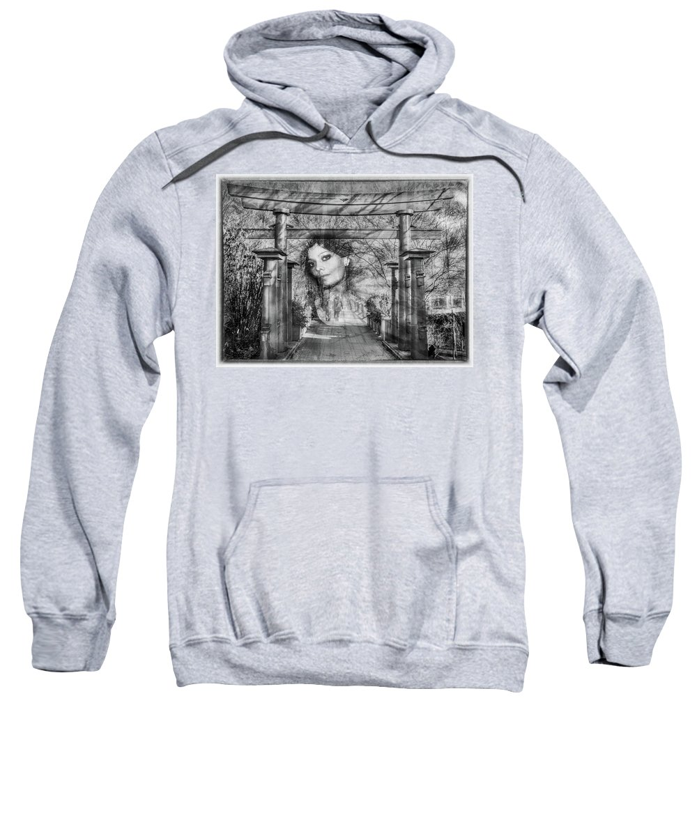 Fantasy Sweatshirt featuring the digital art Dreaming by Hans Erik Nielsen