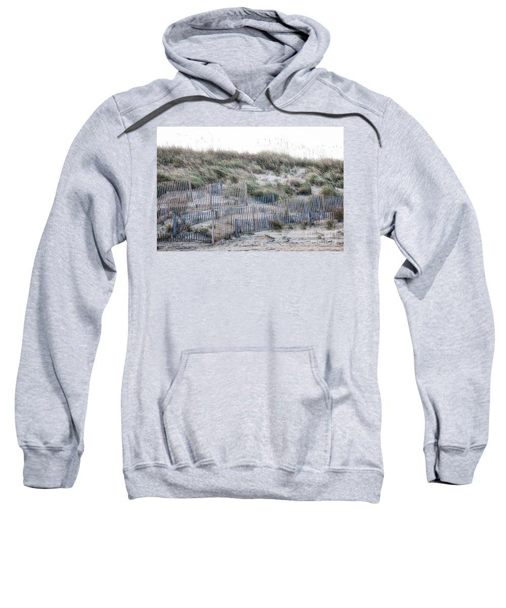 Nags Head Sweatshirt featuring the photograph Dune Walk by Karin Everhart
