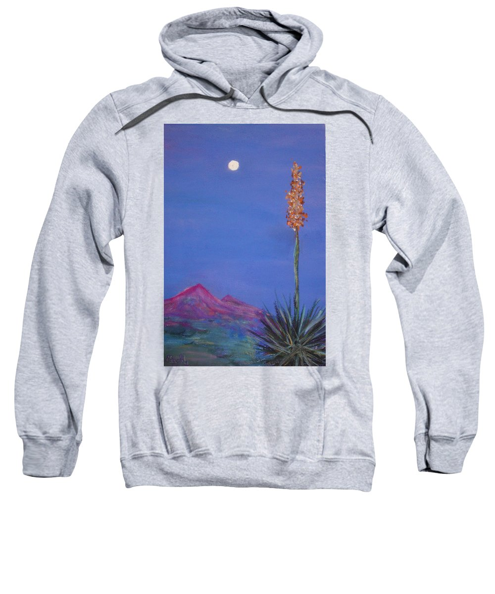 Evening Sweatshirt featuring the painting Dusk by Melinda Etzold