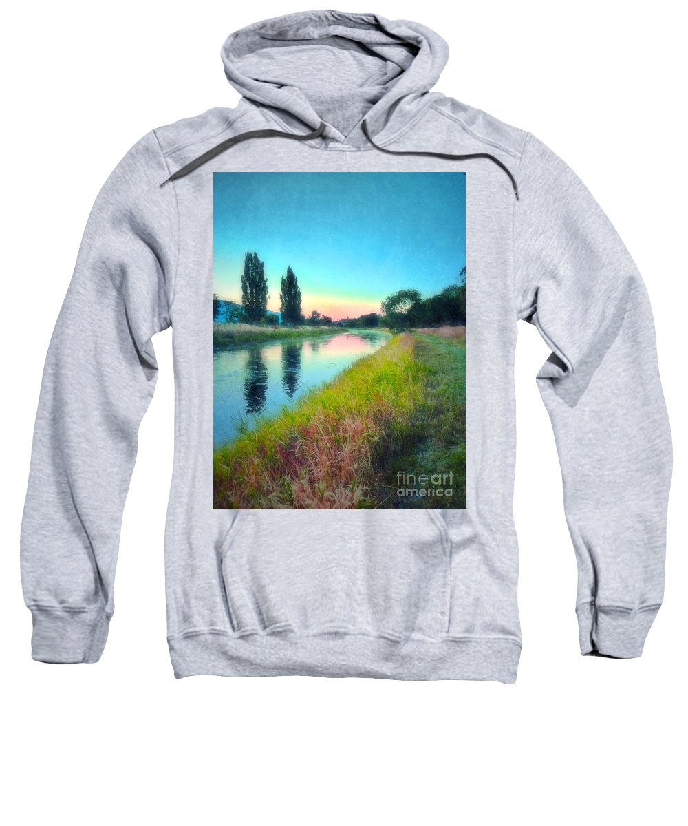 Reflections Sweatshirt featuring the photograph Early Morning Reflections by Tara Turner
