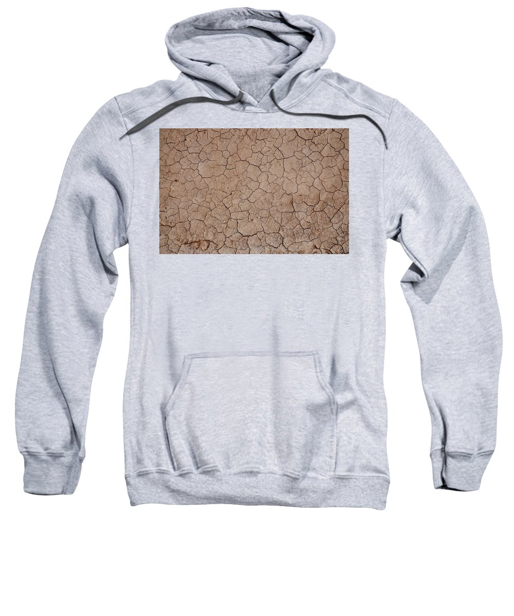 Abstract Sweatshirt featuring the photograph Earth's Crust II by Ryan A Lubit