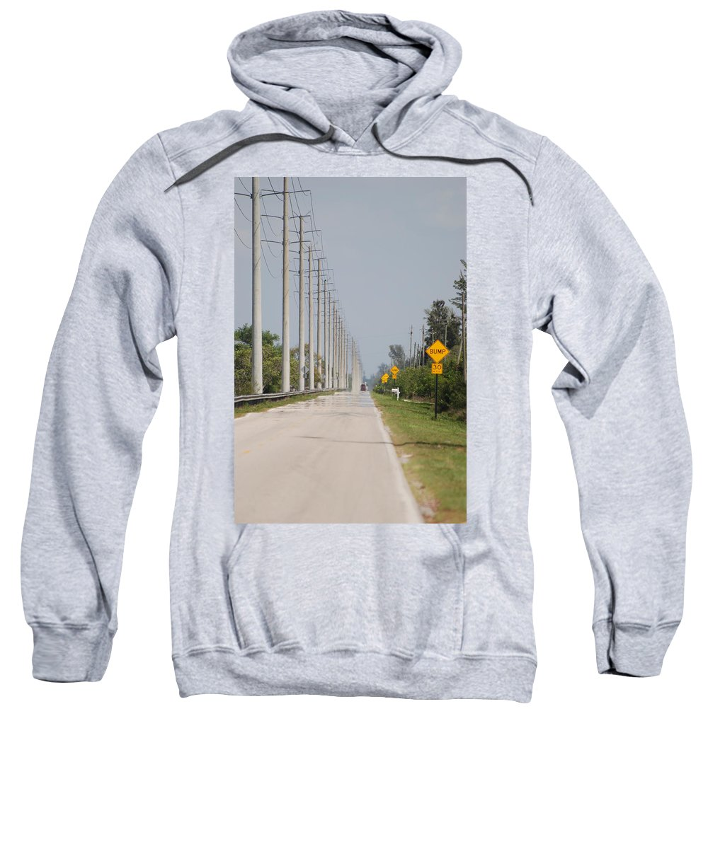 Trees Sweatshirt featuring the photograph East Bound And Down by Rob Hans