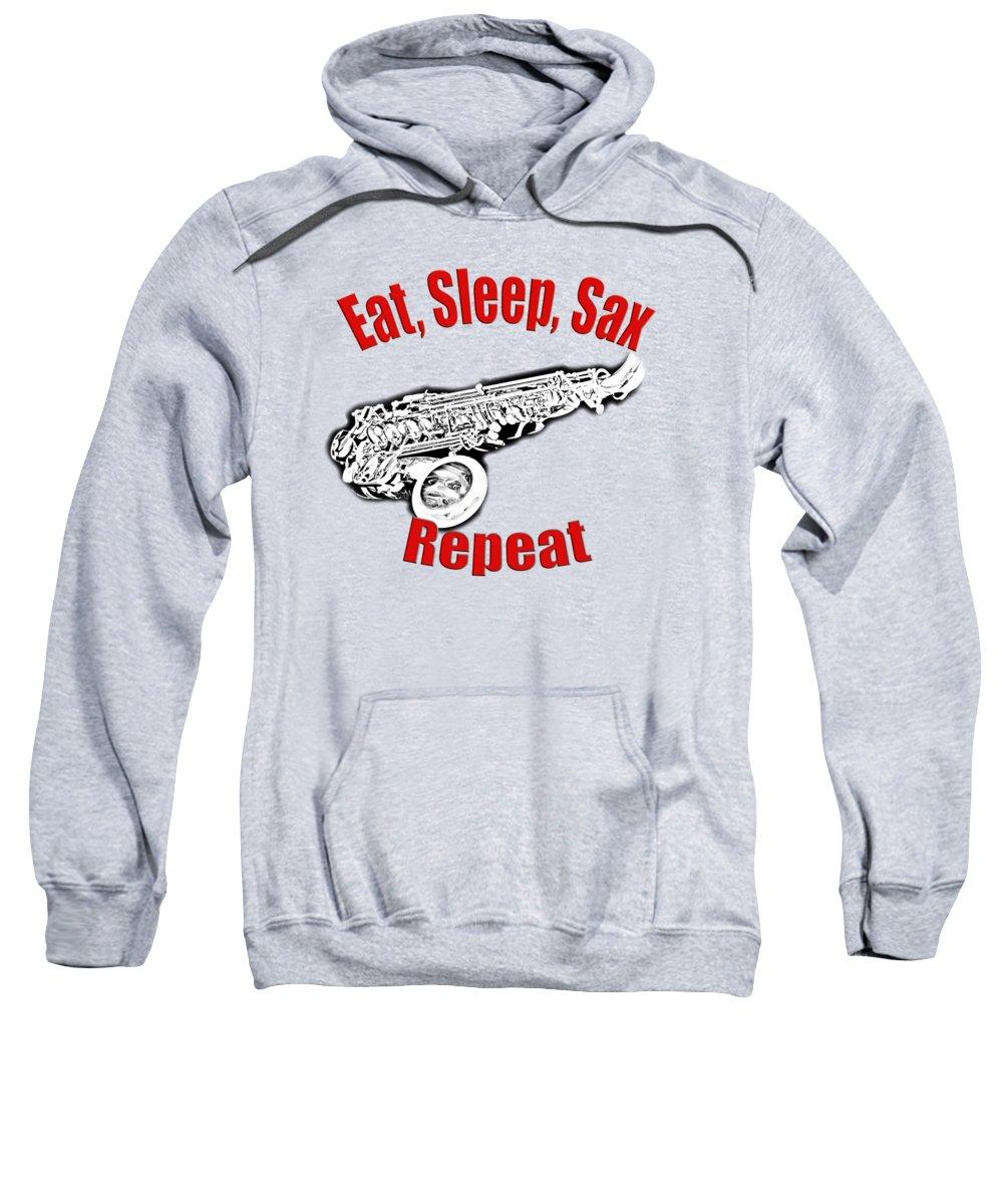 Saxophonist Hooded Sweatshirts T-Shirts
