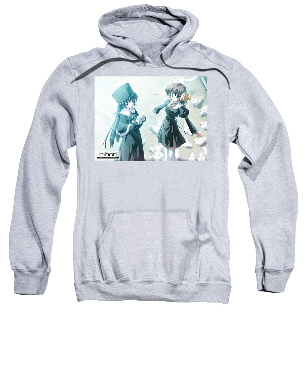 Ef Sweatshirt featuring the digital art Ef by Bert Mailer