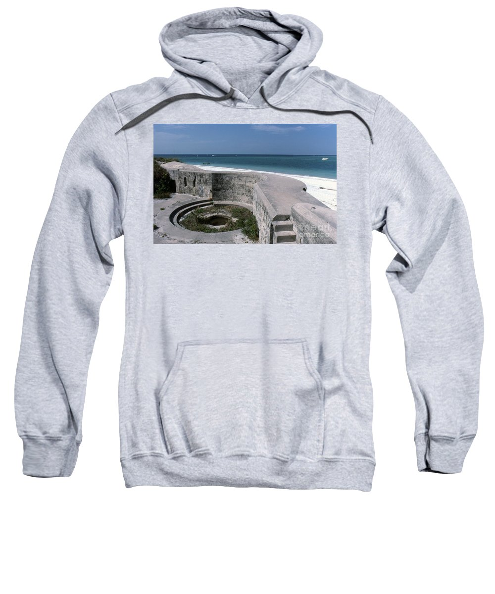 Beaches Sweatshirt featuring the photograph Egmont Key by Richard Rizzo