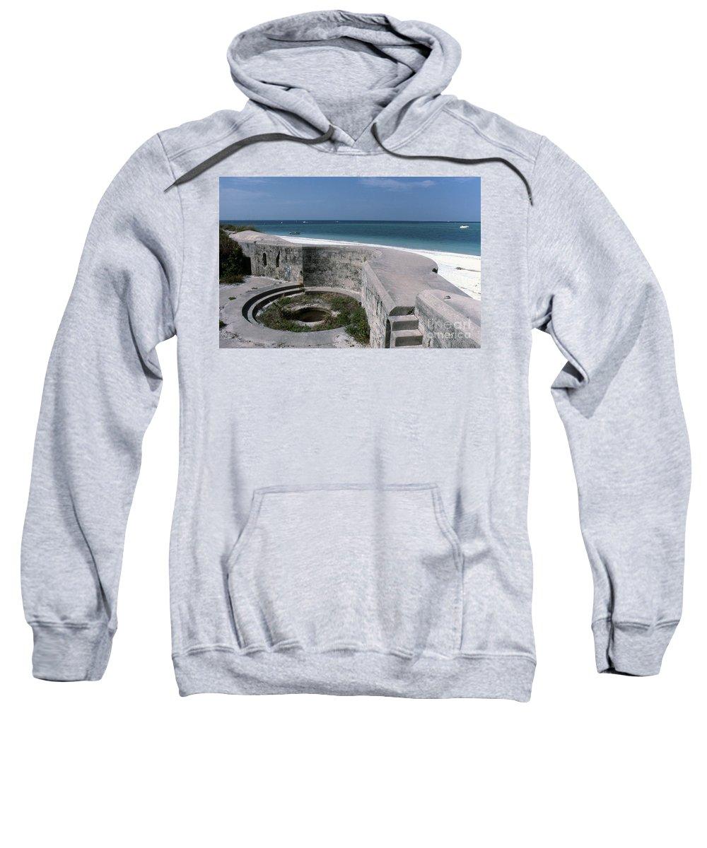 Beaches Sweatshirt featuring the photograph Egmont Key by Richard Rizzo