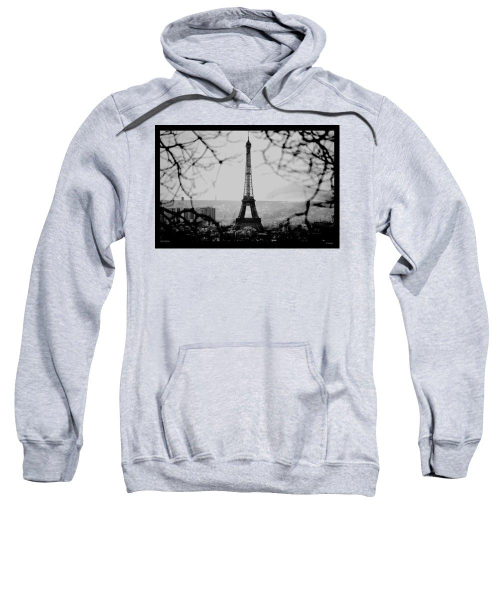 Eiffel Sweatshirt featuring the photograph Eiffel Eyeful by J Todd