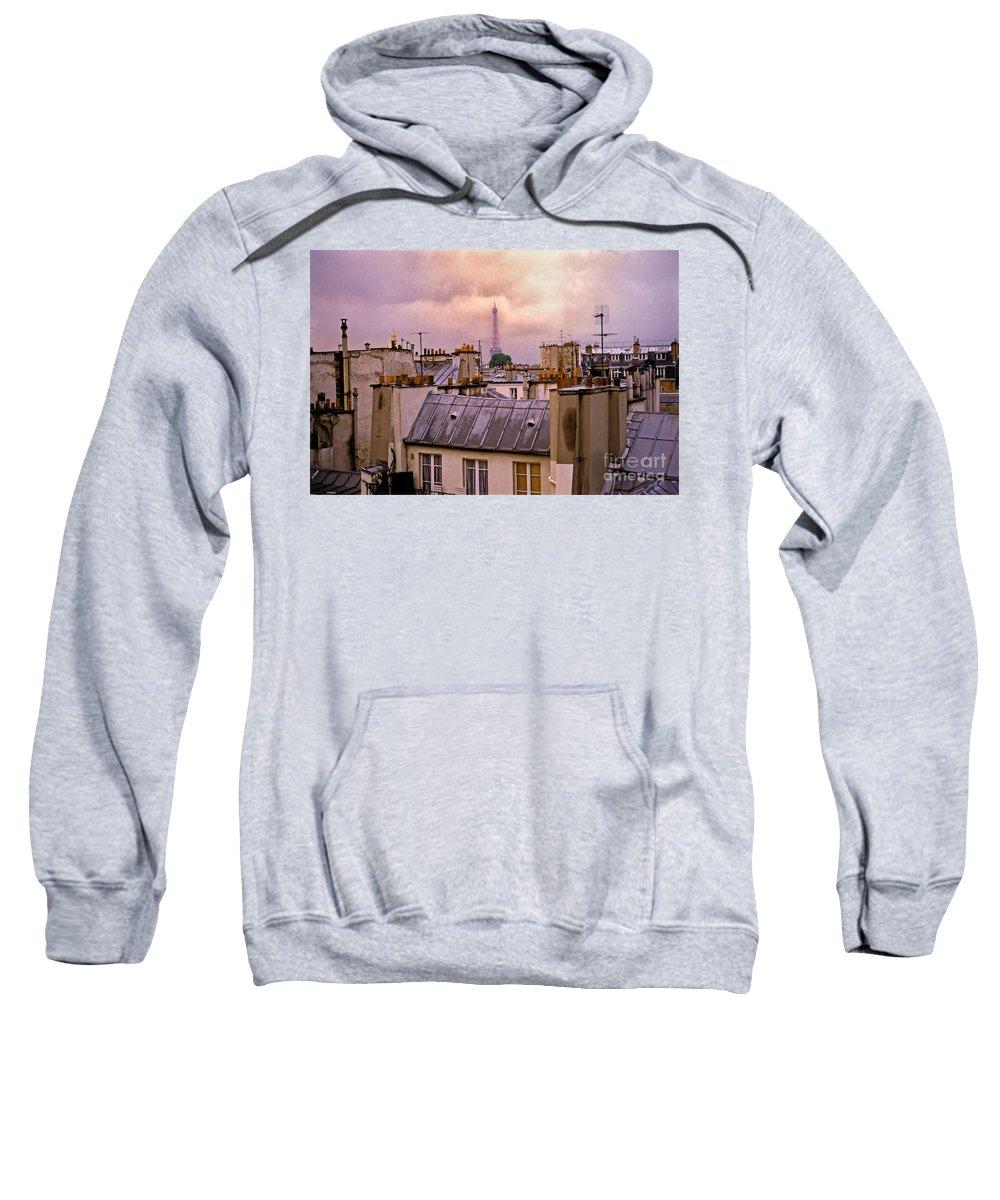 Eiffel Sweatshirt featuring the photograph Eiffel Tower by Madeline Ellis