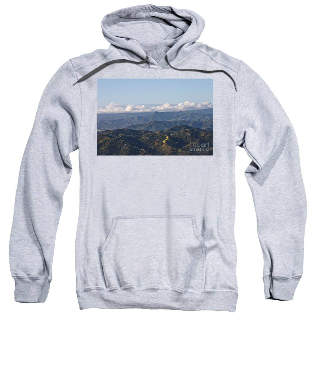 Mountains Sweatshirt featuring the photograph El Yunque Way by Gilbert
