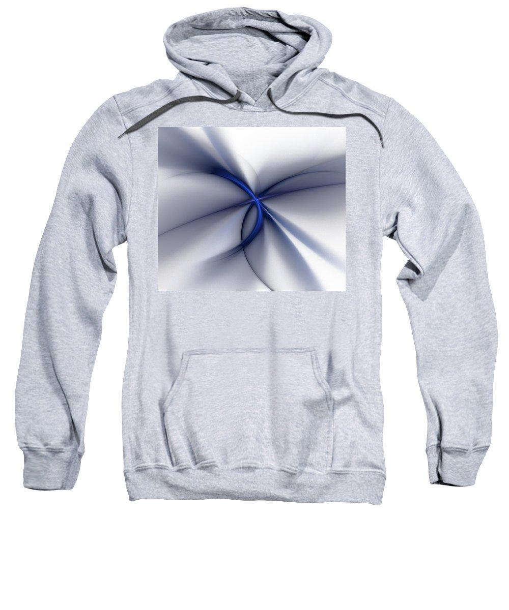 Fantasy Sweatshirt featuring the digital art Elegance by David Lane