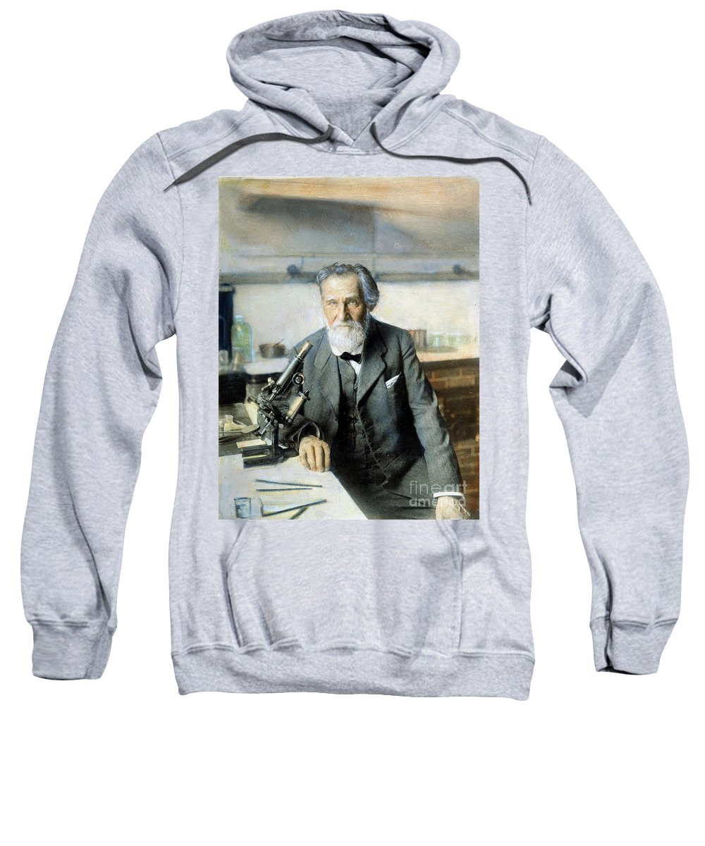 20th Century Sweatshirt featuring the photograph Elie Metchnikoff (1845-1916) by Granger