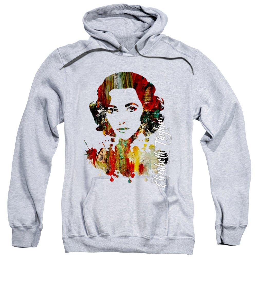 Elizabeth Taylor Hooded Sweatshirts T-Shirts