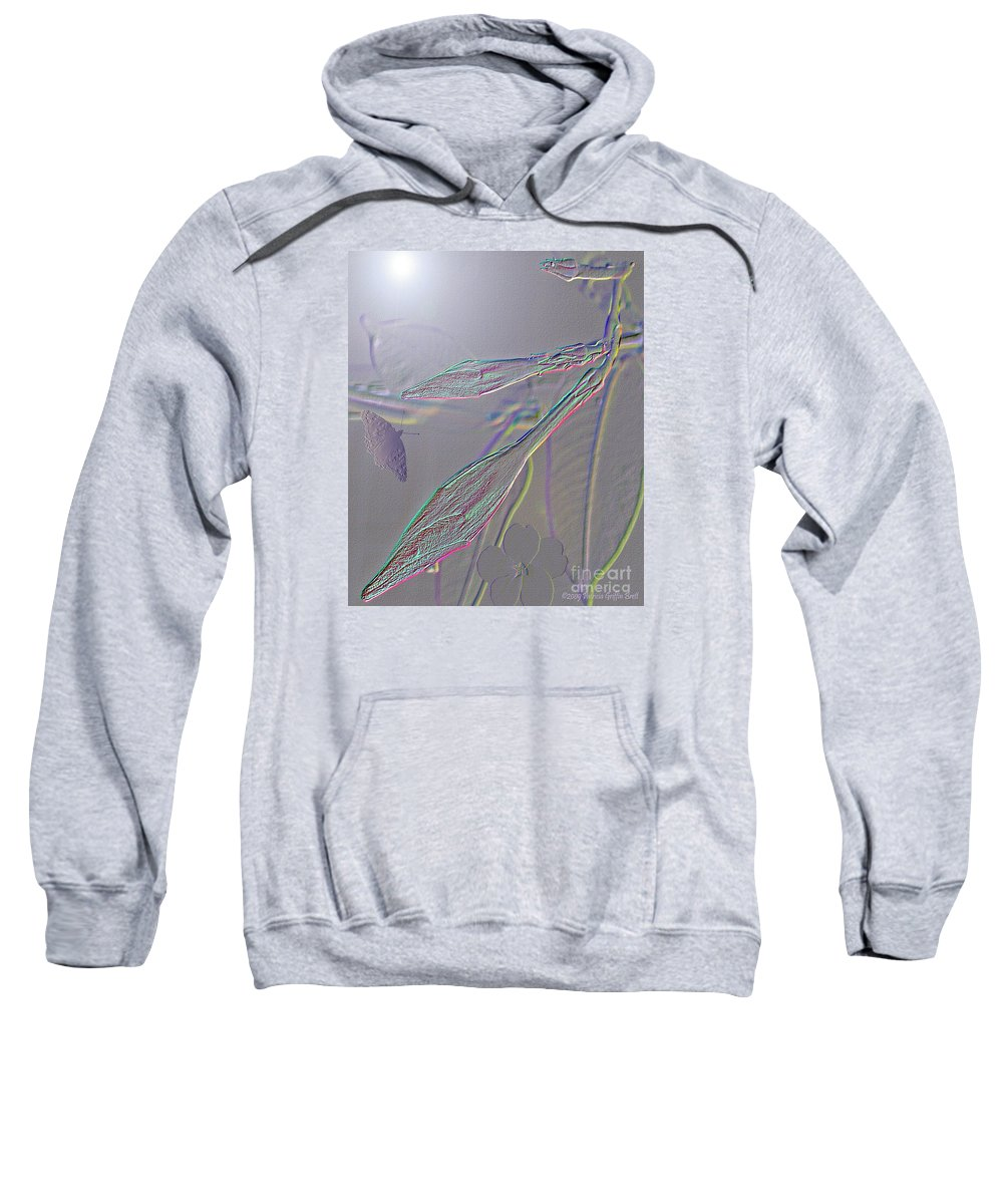Mixed Media Art Sweatshirt featuring the photograph Emergence by Patricia Griffin Brett