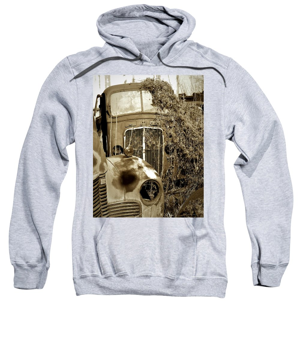 Pennsylvania Ave. Sweatshirt featuring the photograph Endings... by Arthur Miller