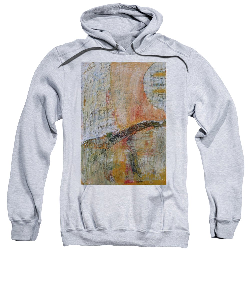Abstract Sweatshirt featuring the painting Energy 1 by Habib Ayat
