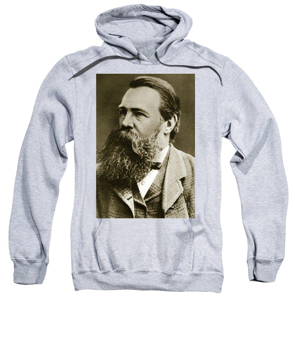 Engels Sweatshirt featuring the photograph Engels by German School