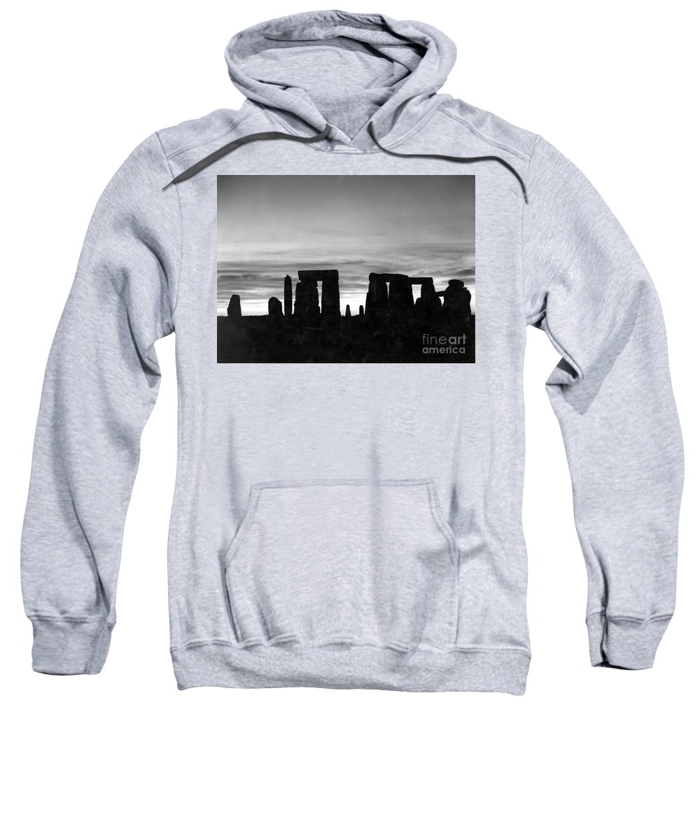 Ancient Sweatshirt featuring the photograph England: Stonehenge by Granger