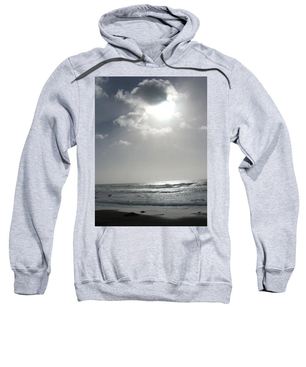 Black And White Sweatshirt featuring the photograph Enlightened by Shari Chavira
