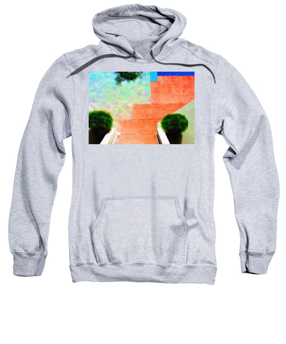 Photography Sweatshirt featuring the digital art Enter My Dream by Paul Wear