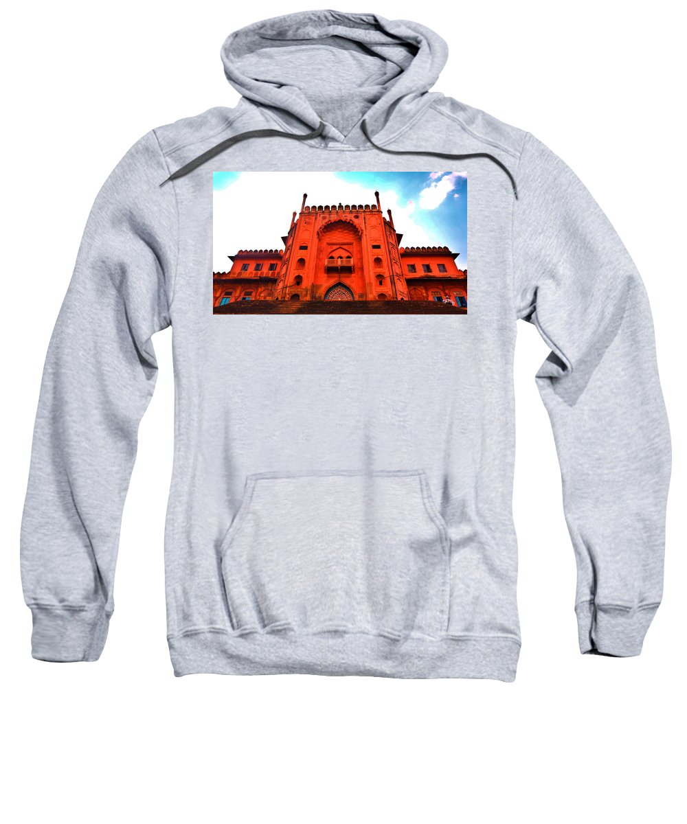 Architecture Sweatshirt featuring the photograph #Entrance Gate by Aakash Pandit